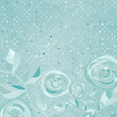 Beautiful retro rose pattern. EPS 8
