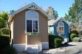 Kleine, winzige Häuser