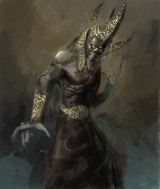 Undead egyptian pharao