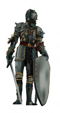 Medieval armor-vector