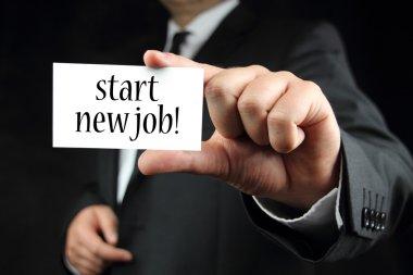 Start new job