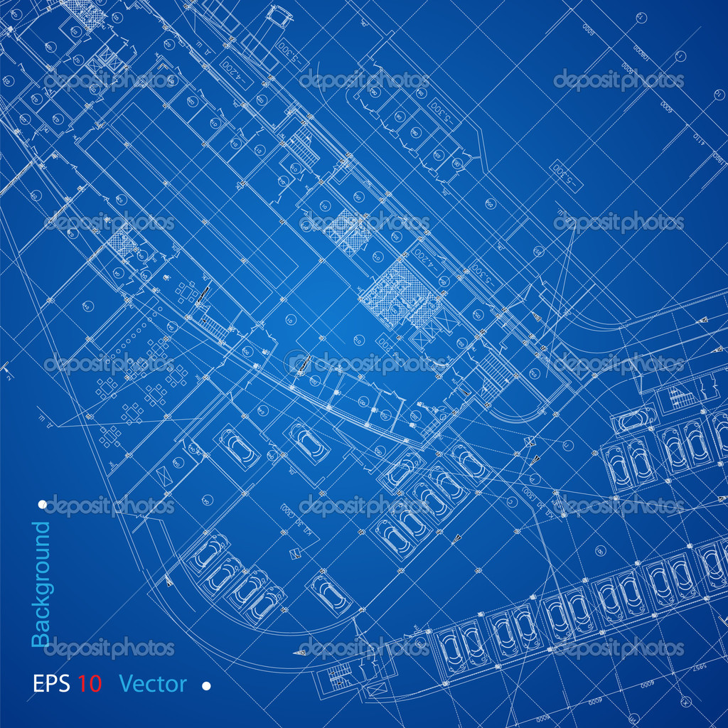 Urban blueprint vector stock vector nahariyani 10917525 part of architectural project architectural plan technical project drawing technical letters architect at work architecture planning of interiors malvernweather Gallery