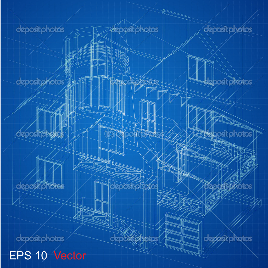 Urban blueprint vector stock vector nahariyani 10917529 part of architectural project architectural plan technical project drawing technical letters architect at work architecture planning of interiors malvernweather Gallery