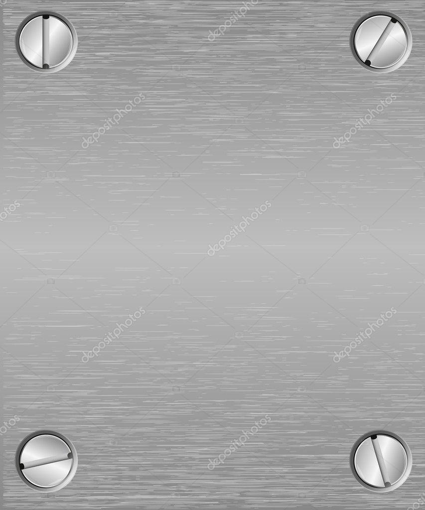 Seamless metal texture background. Vector