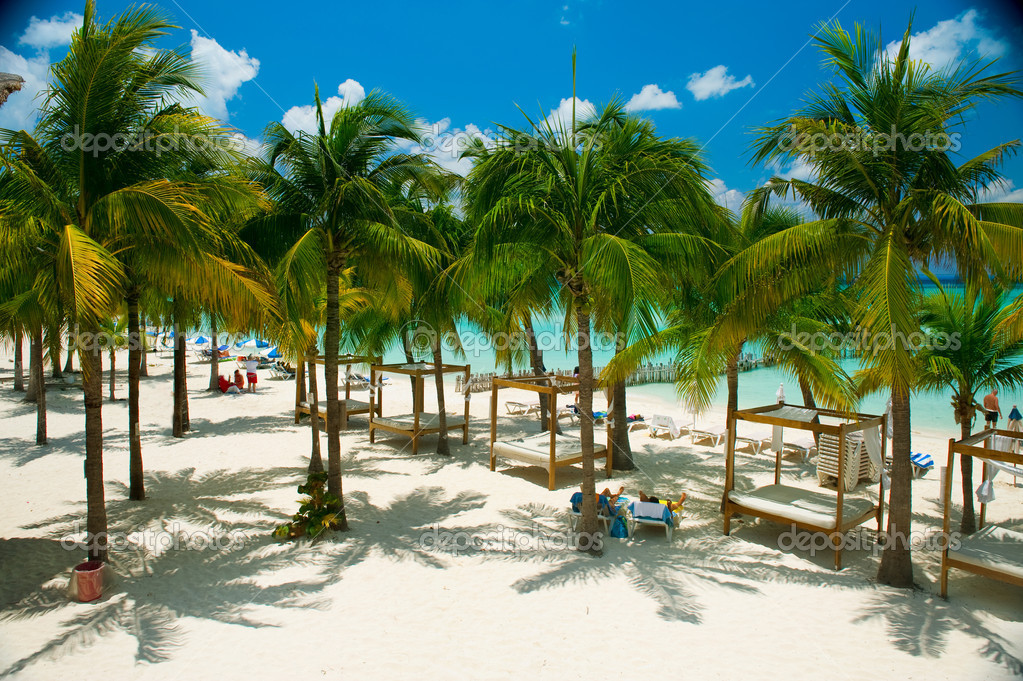 Caribbean Beach. Paradise Resort