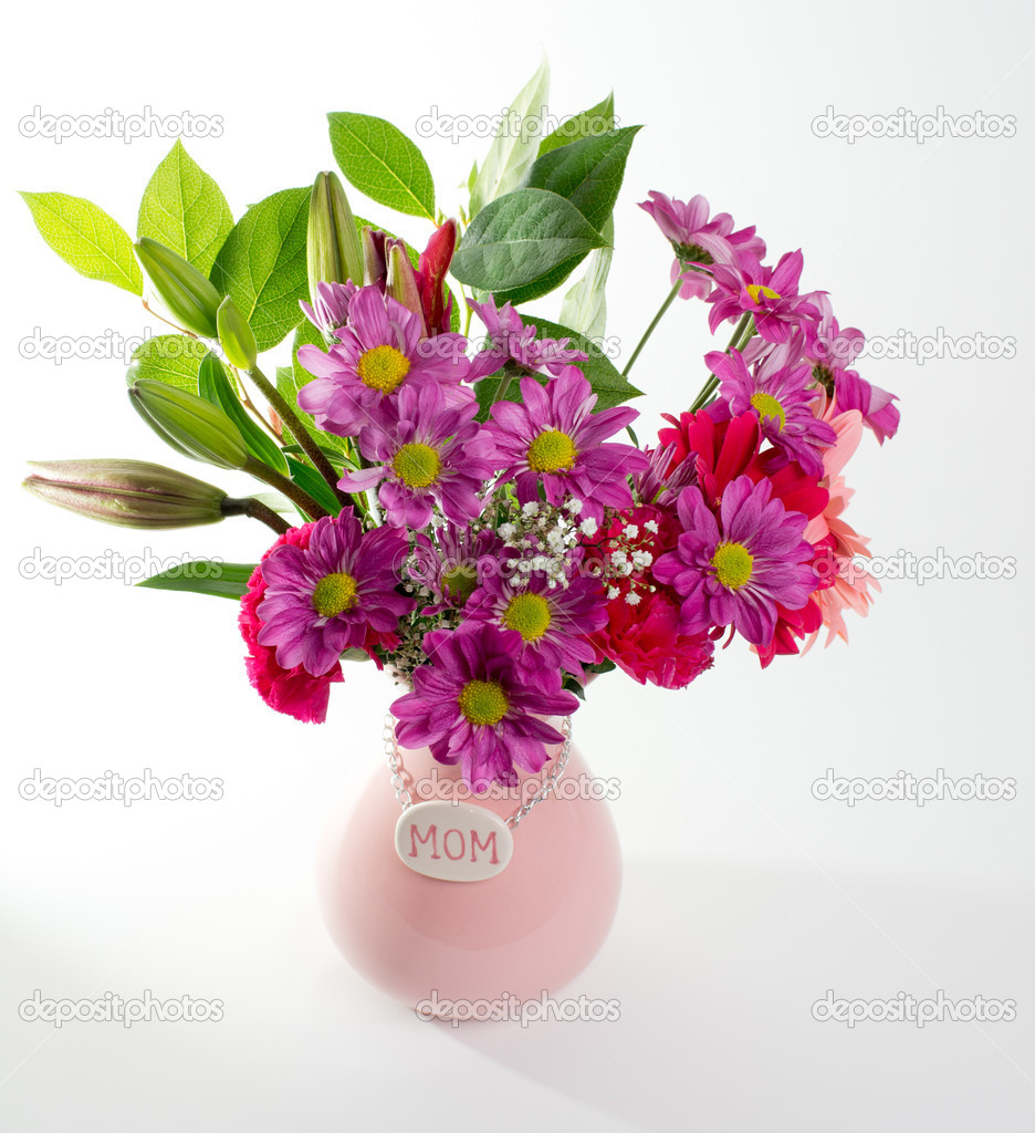 Pink Mother's Day Flowers