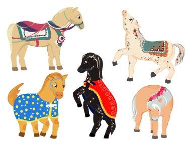 Horses pony