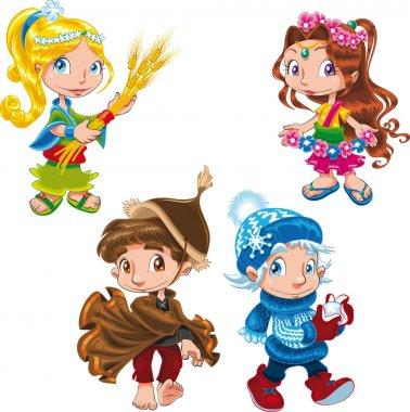 Seasons Characters