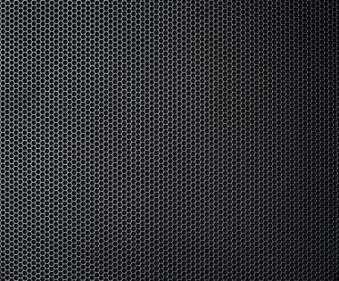 Grey background of circle pattern texture