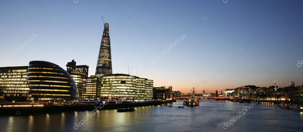 London Cityscape, Tower Hemlets