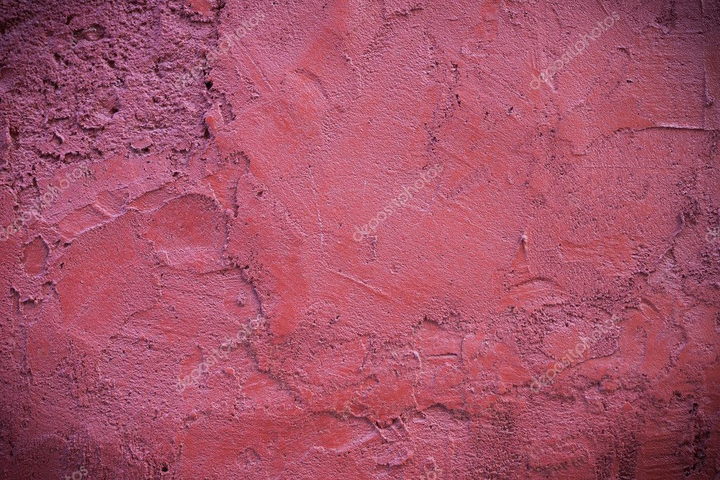 Beton Putz dunkle scharfe rosa putz beton textur hintergrund stockfoto