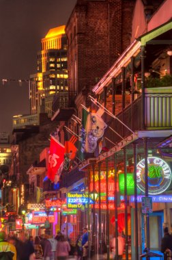 Bourbon Street Neon Lights