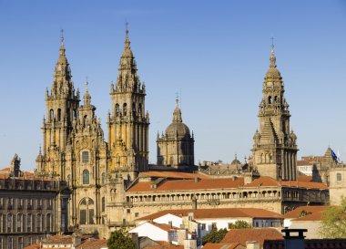 Cathedral of Santiago de Compostela in Galicia, Spain.