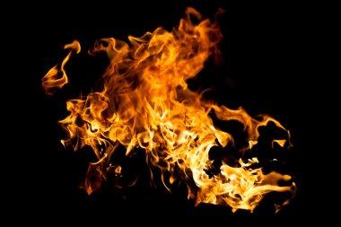 Hot fire splash