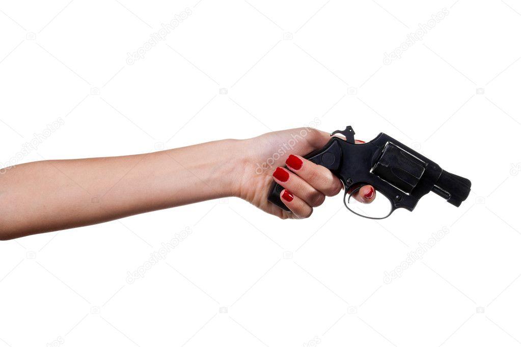 Рука держит пистолет красивые картинки