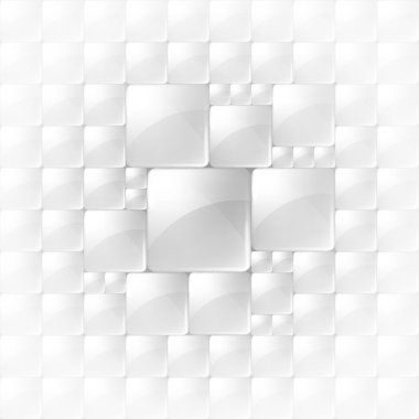Abstract background with transparent squares. Eps 10.
