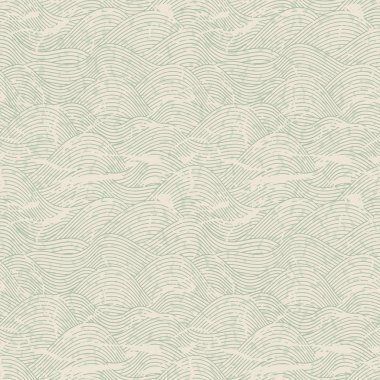 Seamless wave hand drawn pattern. Abstract vintage background. clip art vector