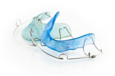 Blue retainer