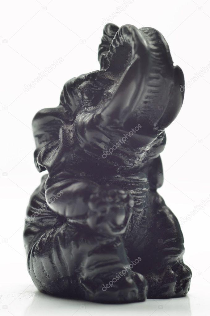 Černé ebenové nahé fotografie
