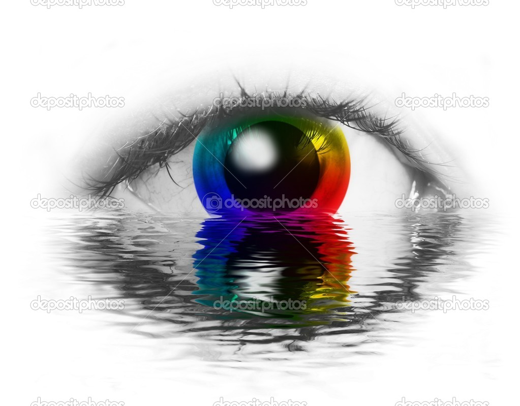 Color Wheel In Human Eye Stock Photo C Anikakodydkova 10796938