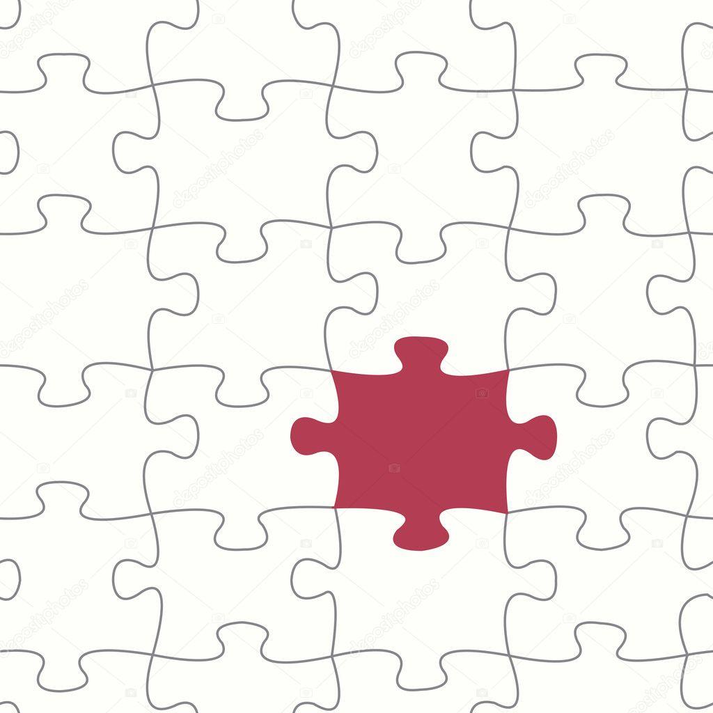 eps10 datei nahtloser vektor puzzle muster vektor von lutya - Puzzle Muster