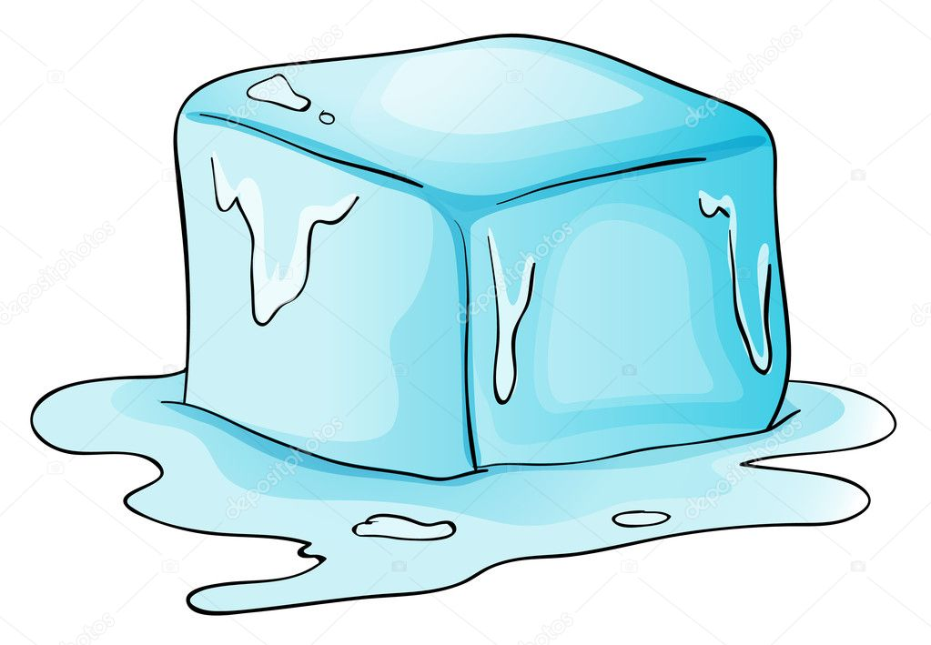 Ice Cube Stock Vector Interactimages 10947108