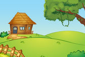 Casa su una collina