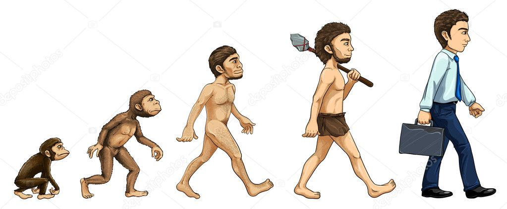 the evolution of human development