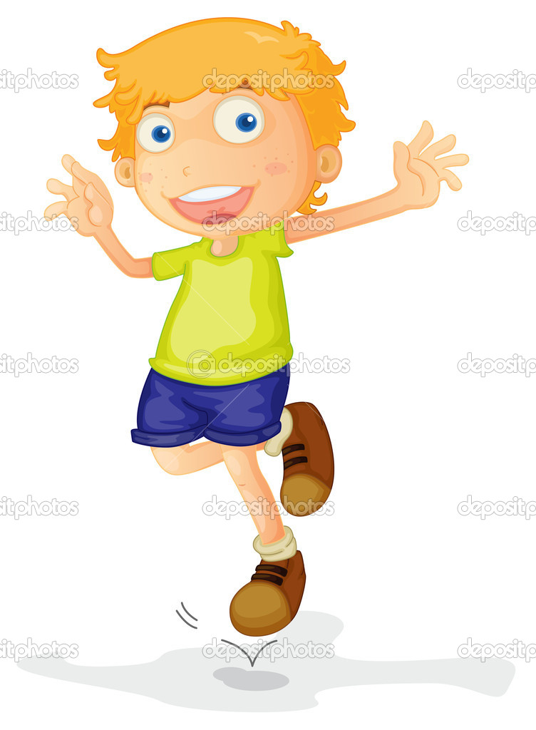 a boy — Stock Vector © interactimages #11519195