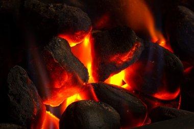 Imitation coal fire