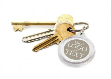 House keys blank key fob