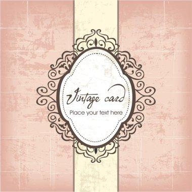 Luxury vintage frame template 04