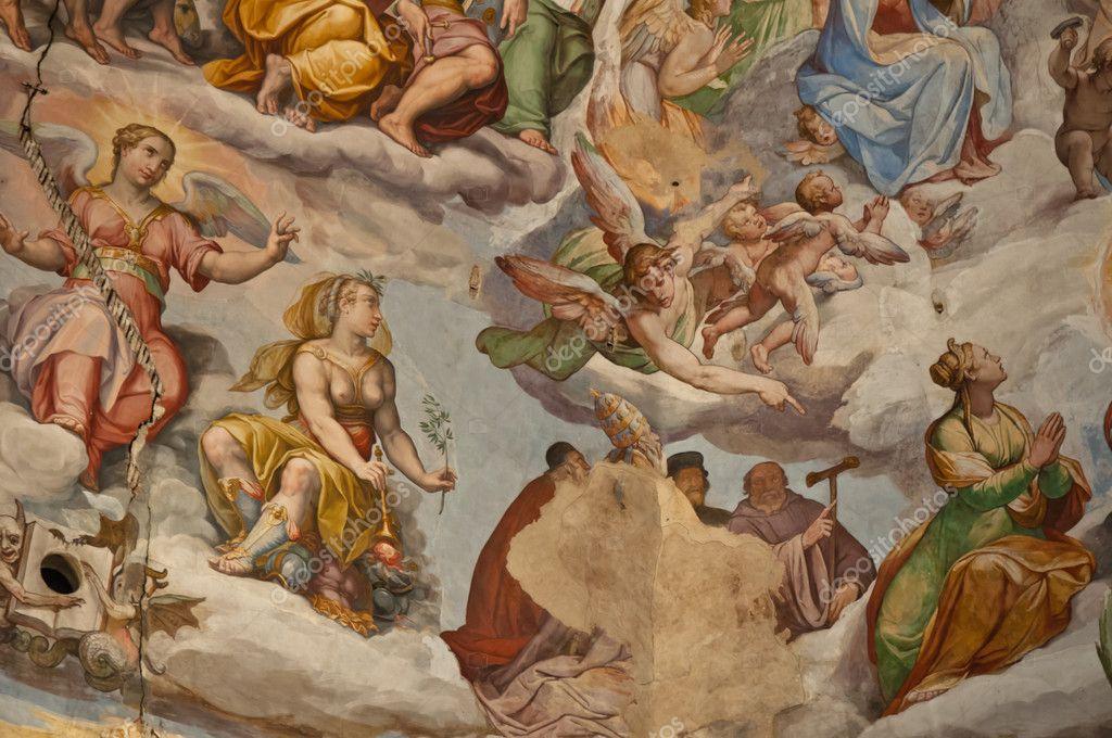 Interior of Florence Italy Duomo