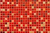 červené mozaikové dlaždice pozadí