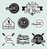 Fotografia set vettoriale di tutte le etichette di campioni di stelle e lega