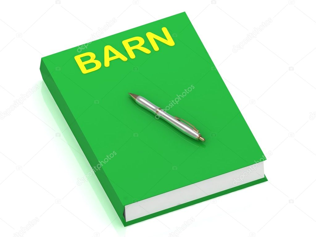 BARN name on cover book