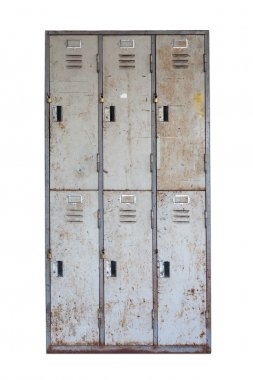 Rusted old cabinet
