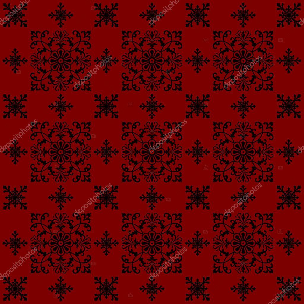 Le Fond De Papier Peint De Style Vintage Rouge Design Image