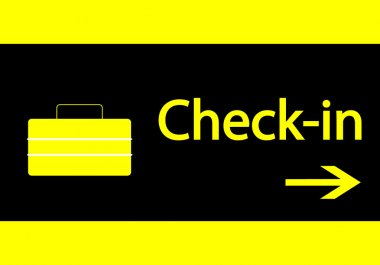 Check-in signal
