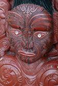 Fényképek Maori szembe faragás - Rotorua, Új-Zéland