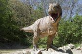 Fotografia tirannosauri rex - giardino zoo di bratislava