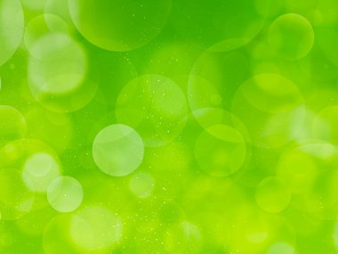 Olive Green bubbles background Bubbly