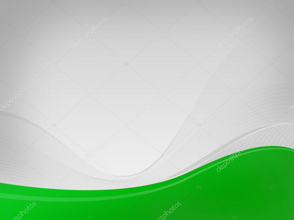 Accendere Wavelet Grigia Sfondo Di Vertigini Hf Verde Onda Spazio