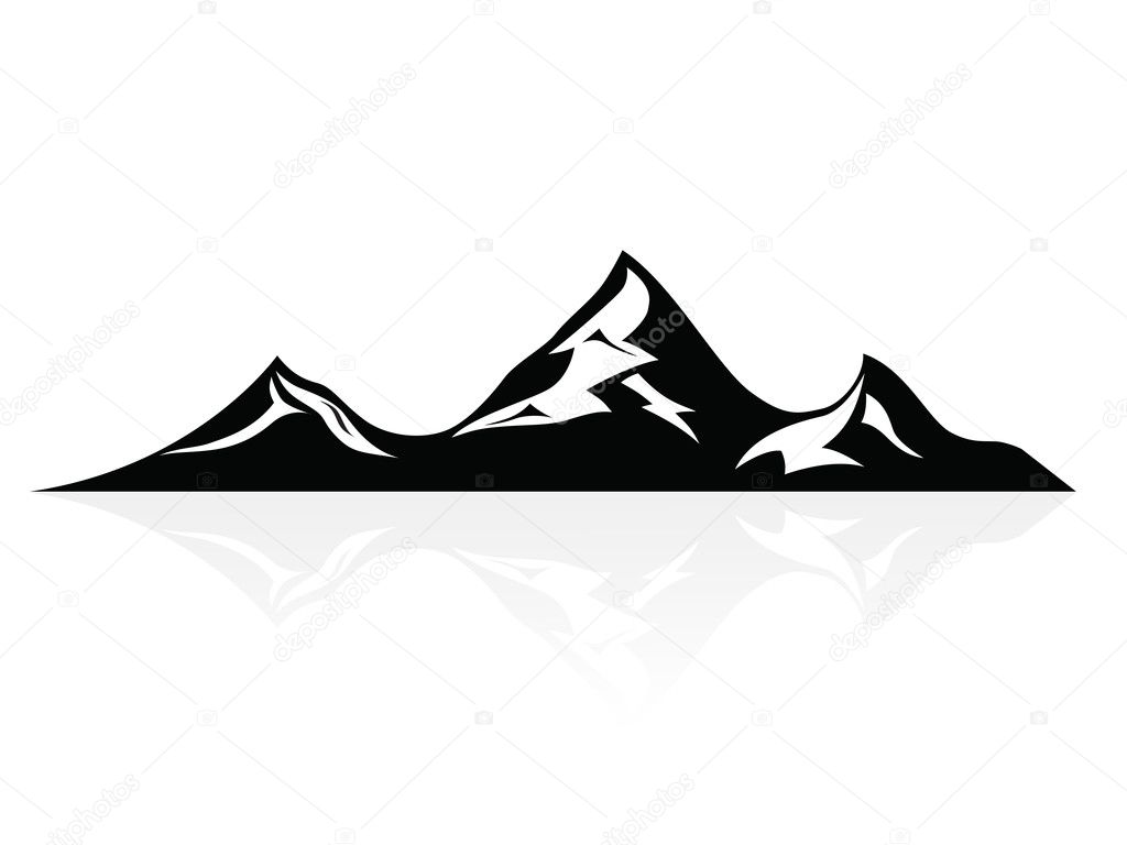 Mountain peaks,logo,icon,sign,vector
