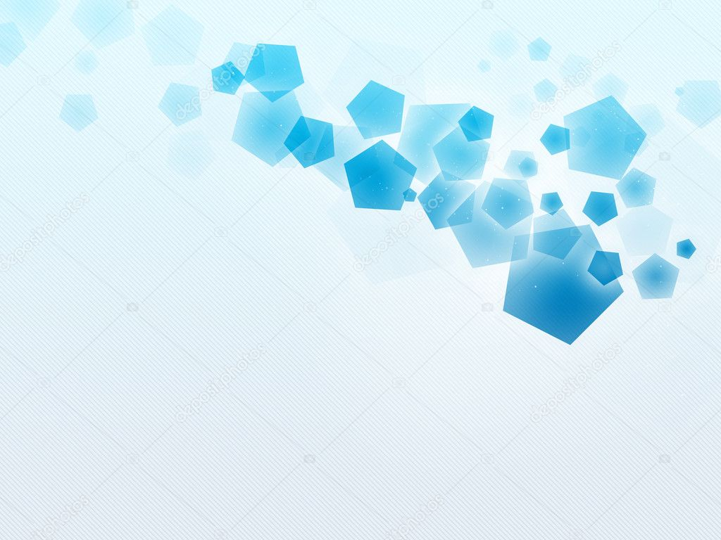 3d Icono Correo Azul Brillante Sobre Un Fondo Blanco: Blue-Cyan Pentagon, Blue-white Stripe Background Oraigo-W