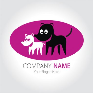 Company (Business) Logo Design, Vector, Dogs, Breeding station