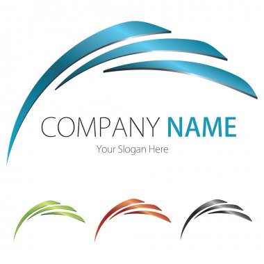 Company (Business) Logo Design, Vector, Arc, Wing