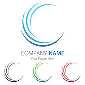 vállalati (üzleti) logo tervezés, vektor, ívek