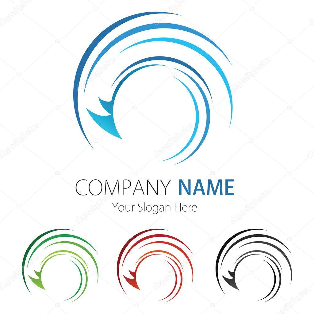 Company business logo design vector stock vector for Design company