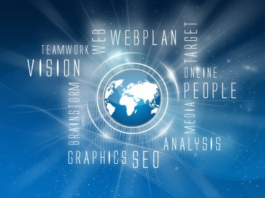 Background, Webplan, Webpages, Scheme, Web-Services